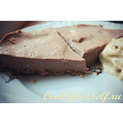 Шоколадно-протеиновый чизкейк