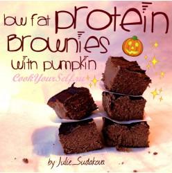 Тыквенное-Шоколадные Брауни