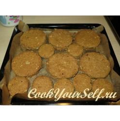 Тыквенно-овсяные печеньки