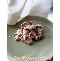 Куриные грудки с грецким орехом