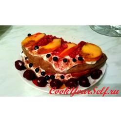Фитнес торт на завтрак