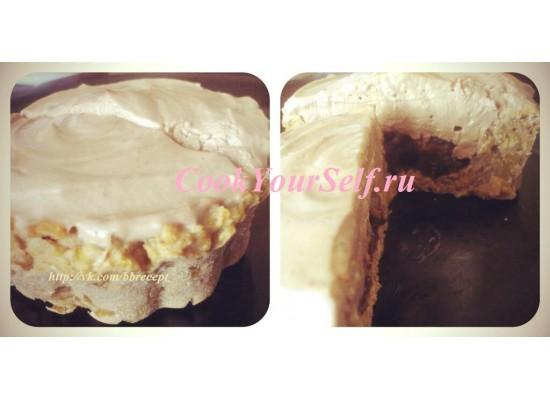 Нутовое пирожное