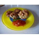 Творожно-яблочные лепешки