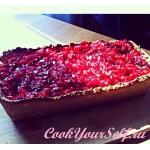 Супертворожный пирог с ягодами