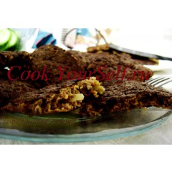 Оладья из говяжьей печени
